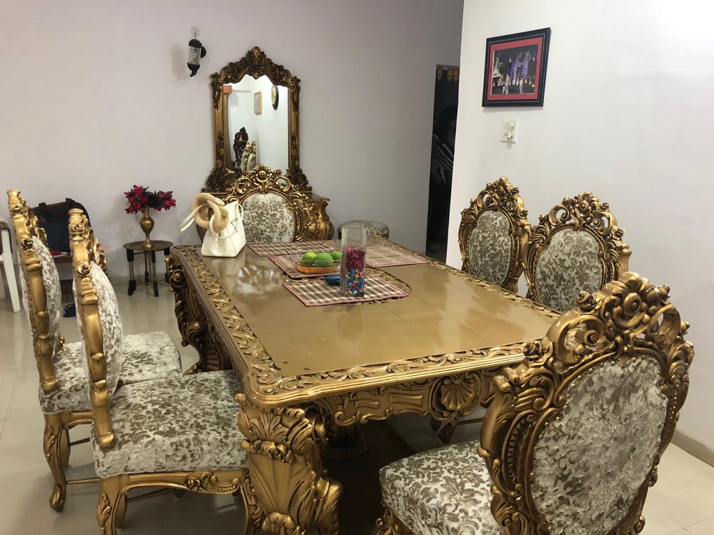 Received images from our happy customer dining set 2
