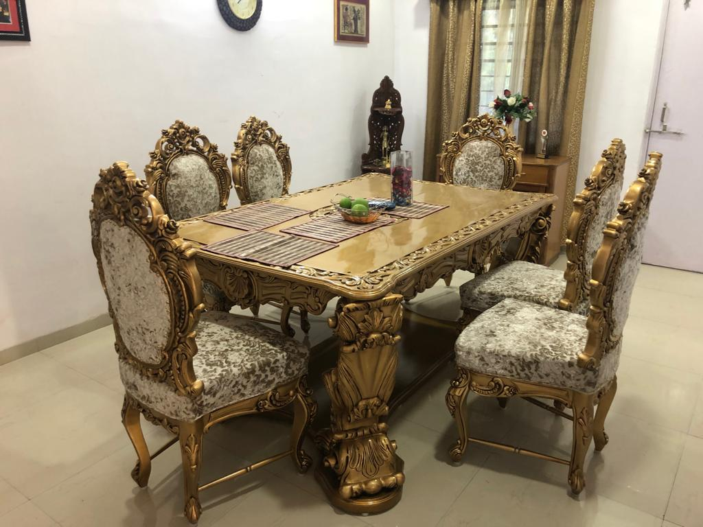 Received images from our happy customer dining set