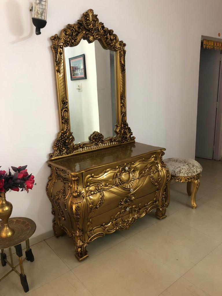 Received images from our happy customer dresser